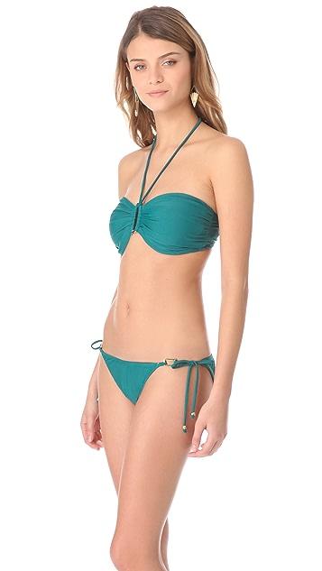 Shoshanna Ocean Bandeau Bikini Top