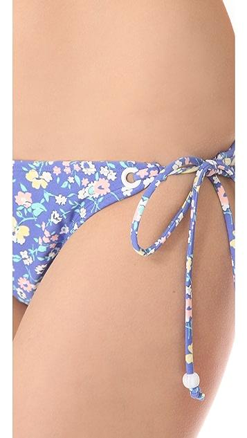 Shoshanna Charlotte Ronson for Shoshanna Vintage Floral Bikini Bottoms