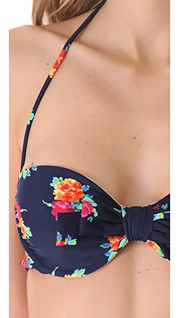 Shoshanna Garden Cove Bikini Top