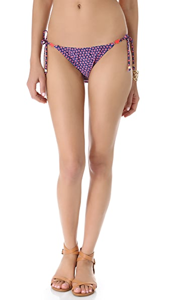 Shoshanna Scattered Hearts Bikini Bottoms