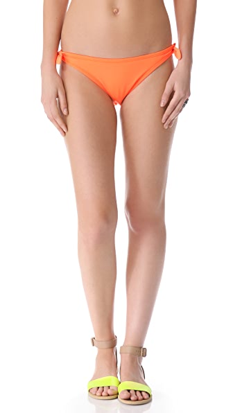 Shoshanna Neon Orange Bikini Bottoms