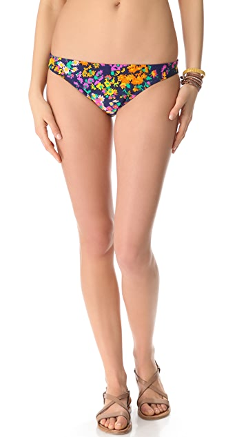 Shoshanna Watercolor Floral Bikini Bottoms