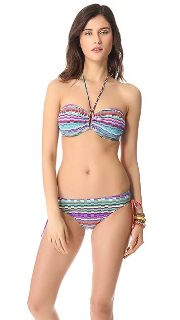 Shoshanna Bialik Ring Halter Bikini Top