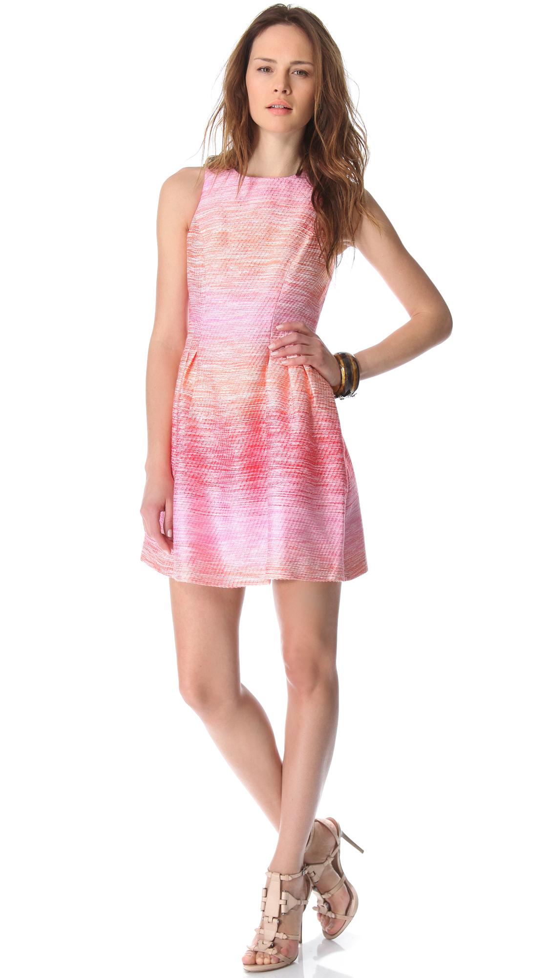Shoshanna Freyja Ombre Tweed Dress   SHOPBOP