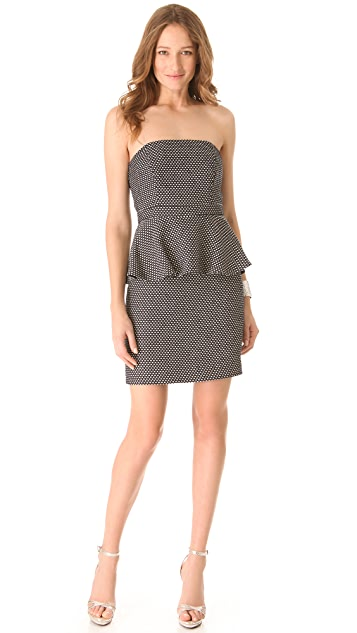 Shoshanna Nayalya Peplum Dress