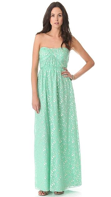 Shoshanna Jennifer Strapless Maxi Dress