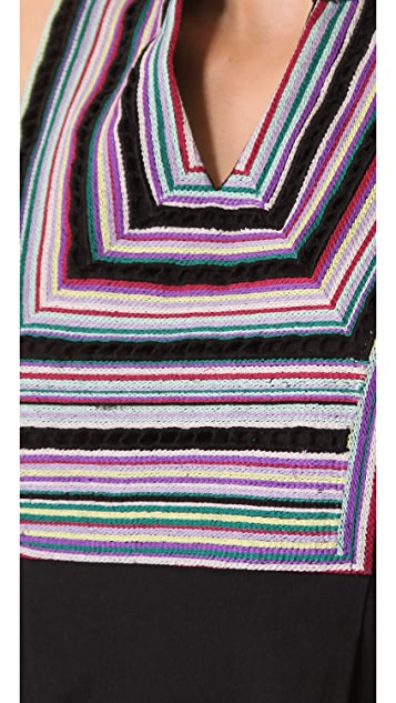 Shoshanna Embroidered Gwen Dress