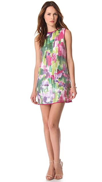 Shoshanna Regina Sequin Shift Dress