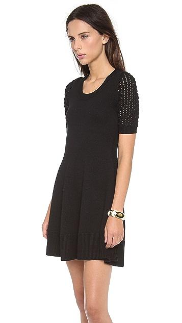 Shoshanna Cable Denisa Sweater Dress
