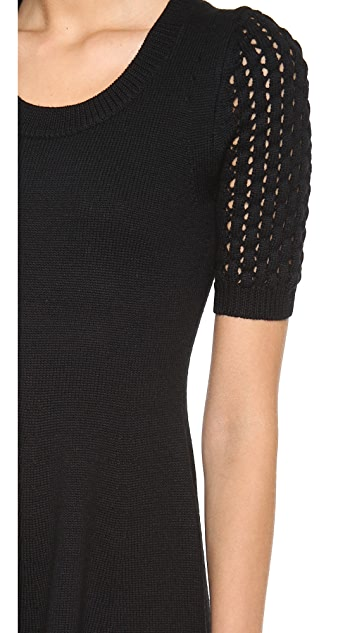 Shoshanna Cable Denisa Sweater Dress