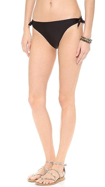 Shoshanna Black Solids Bikini Bottoms
