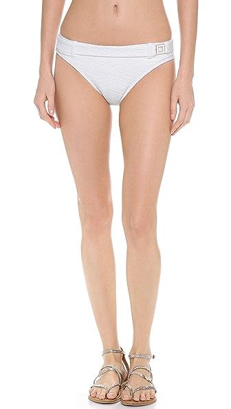 Shoshanna Thessaly Texture Bikini Bottoms
