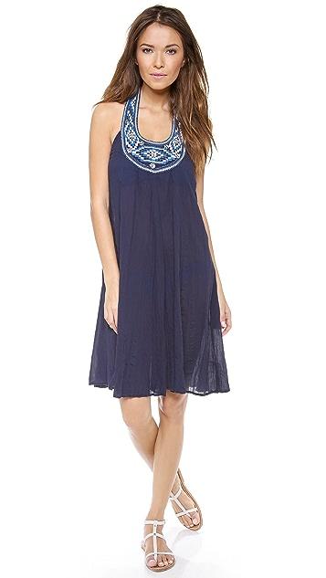 Shoshanna Maine Halter Cover Up Dress