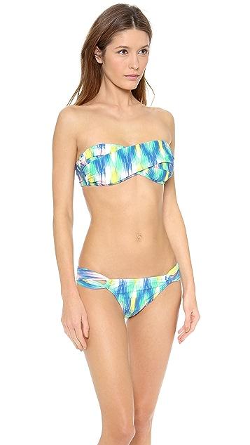 Shoshanna Rio Vista Ikat Bikini Top