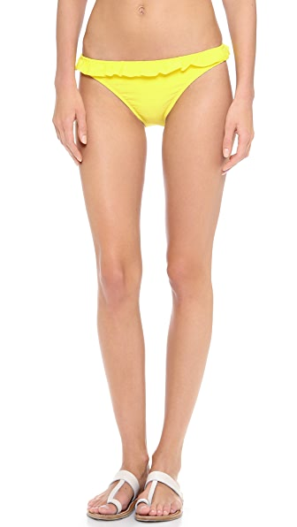 Shoshanna Lemon Drop Bikini Bottoms