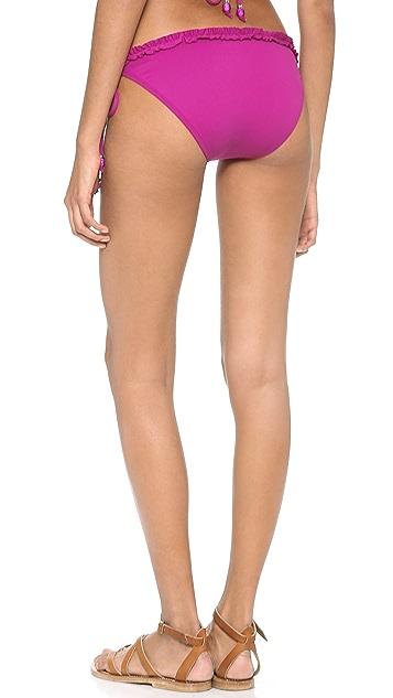 Shoshanna Magenta Bikini Bottoms
