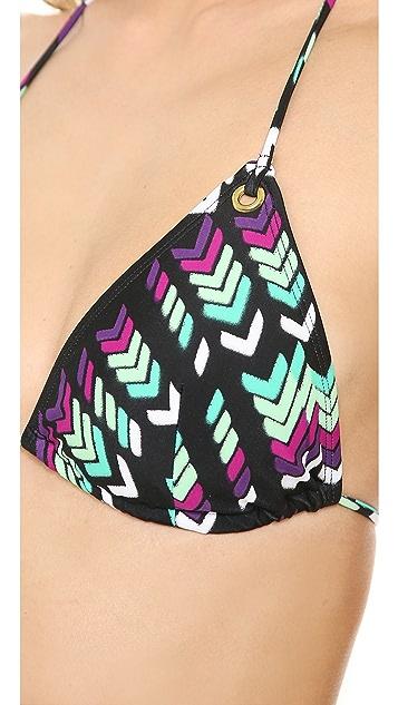 Shoshanna Villa Belrose Bikini Top