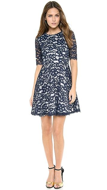 Shoshanna Lace Carmen Dress