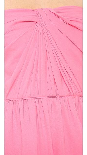 Shoshanna Strapless Zoya Dress