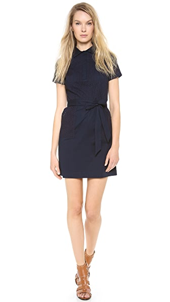 Shoshanna Combo Holly Polo Dress