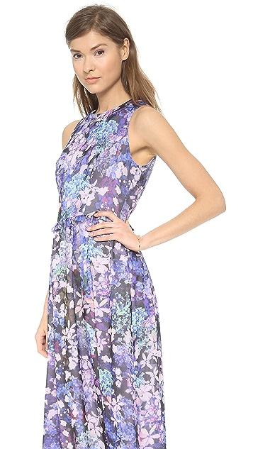Shoshanna Alexia Printed Maxi Dress