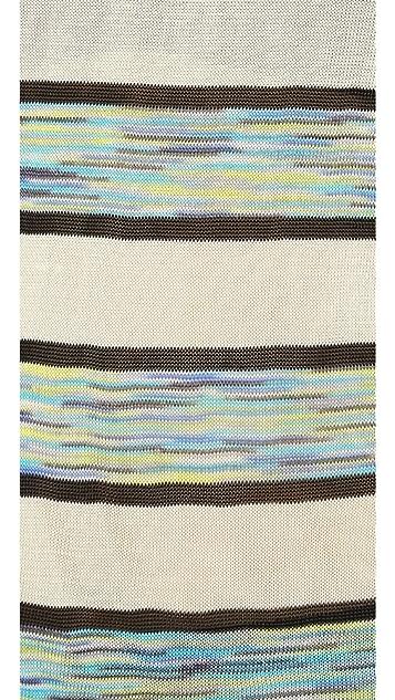 Shoshanna Long Sleeve Space Dye Kim Sweater