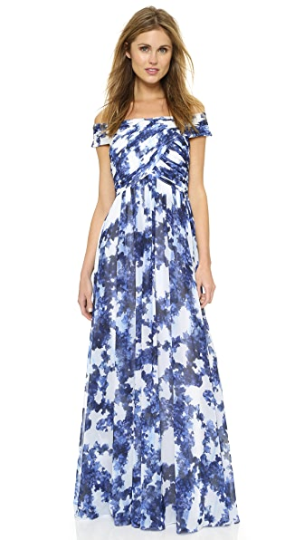 Shoshanna Shoshanna Midnight Arizona Gown