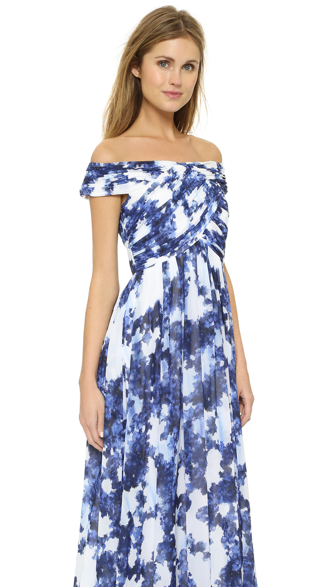 Shoshanna Shoshanna Midnight Arizona Gown | SHOPBOP