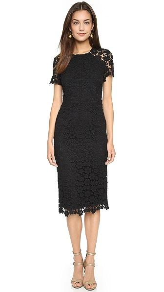 Shop Shoshanna online and buy Shoshanna Beaux Dress Jet dress online
