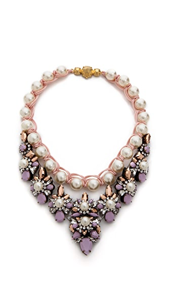 Shourouk Princess Pearl Necklace