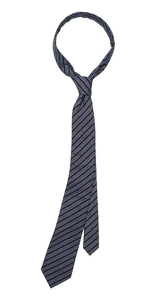 Shipley & Halmos Alfred Night Stripe Tie