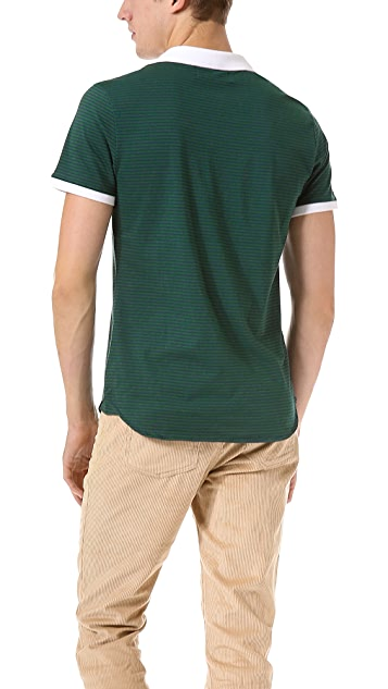 Shipley & Halmos Broome Kilt Polo Shirt