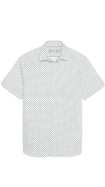 Shipley & Halmos Flynn Diamond Print Sport Shirt