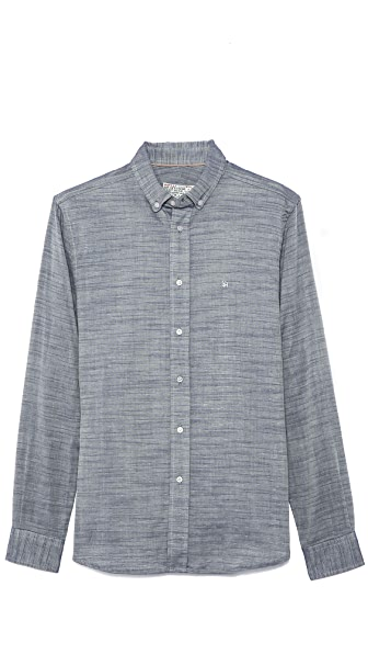 Shipley & Halmos Booster Chambray Shirt