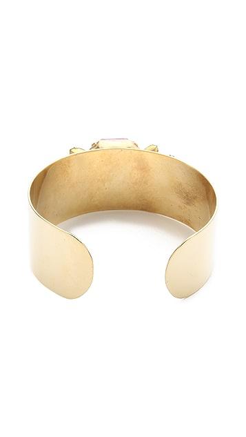 Sandy Hyun Jeweled Cuff Bracelet