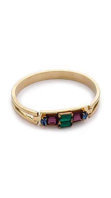 Sandy Hyun Jeweled Bangle Bracelet
