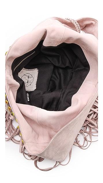 Simone Camille Fringe Bucket Bag