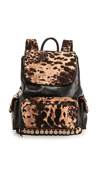 Simone Camille Adorned Haircalf Backpack