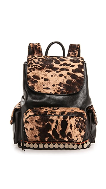 Simone Camille Adorned Haircalf Backpack