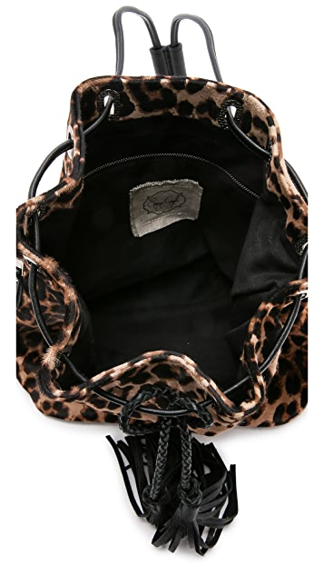 Simone Camille The Haircalf Midi Bucket Bag