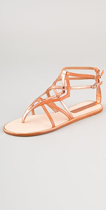 Sigerson Morrison Strappy Thong Sandals