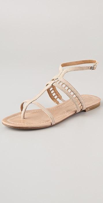 Sigerson Morrison Kade Lattice Flat Sandals