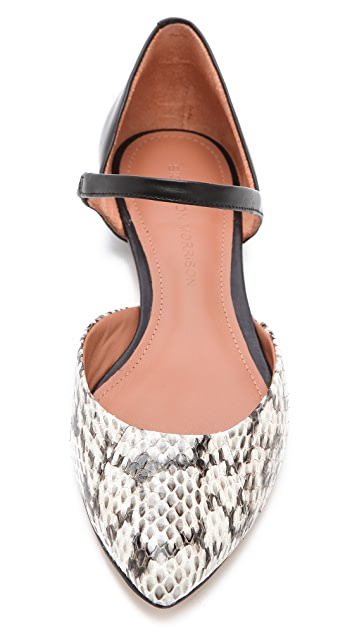 Sigerson Morrison Flat Mary Janes