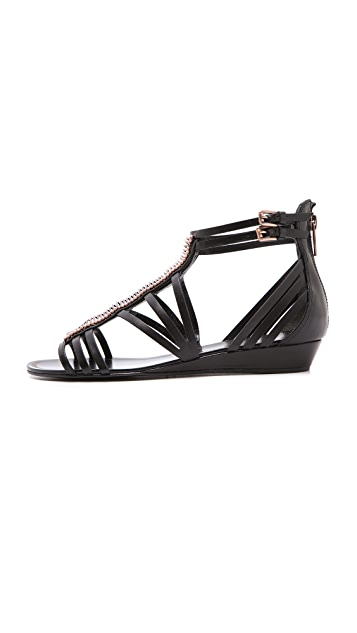 Sigerson Morrison Tiffany Wedge Sandals