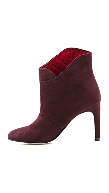 Sigerson Morrison Unity Booties with Quilted Lining