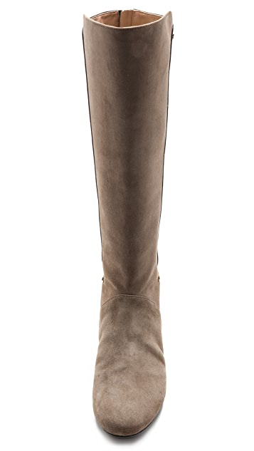 Sigerson Morrison Pearl Suede Flat Boots