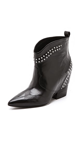 Sigerson Morrison Accent Booties