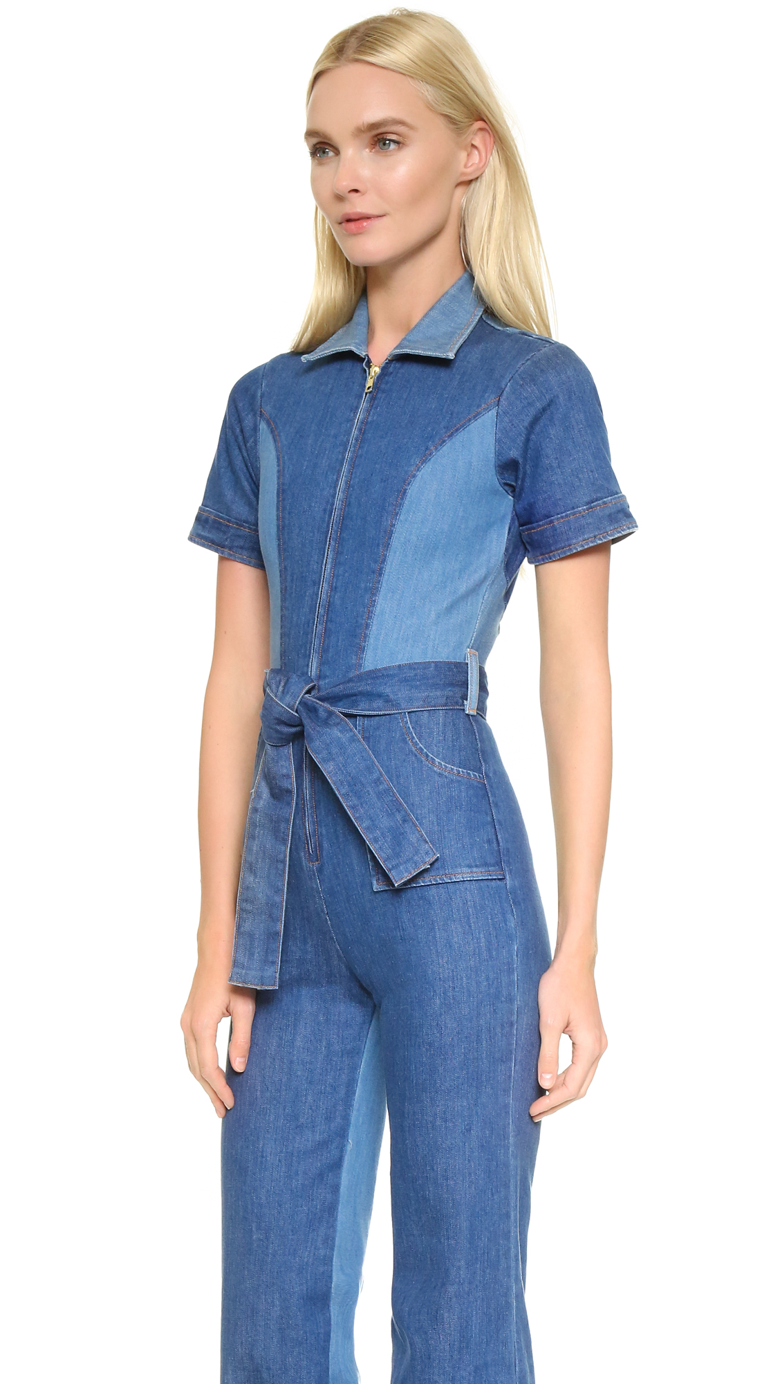 fac2219131c8 Stoned Immaculate Blue Jean Baby Jumpsuit