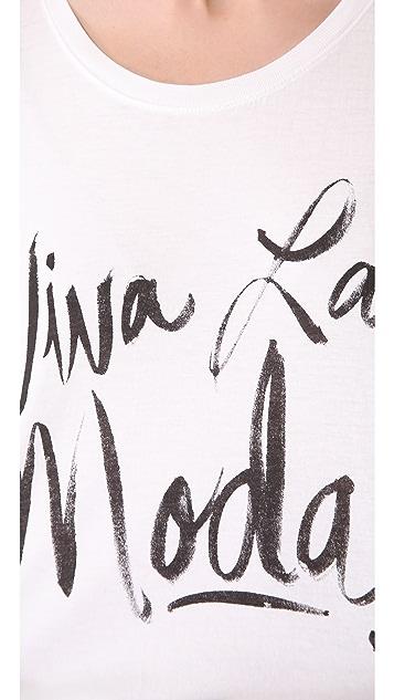 Sincerely Jules Viva La Moda Tee