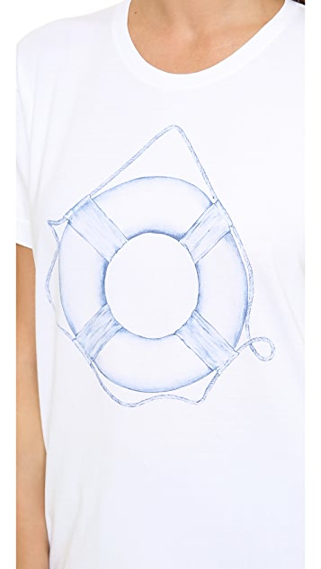 Sincerely Jules Life Saver Tee